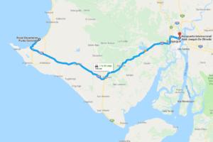Doprava na hotel Punta Centine