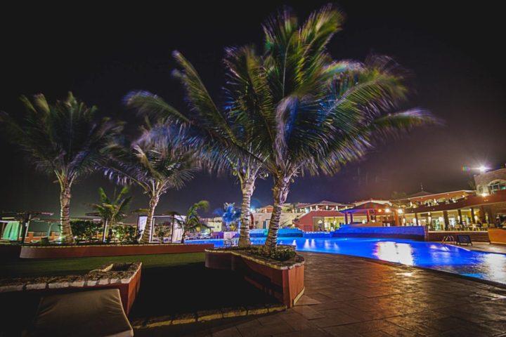 Noční pohled na Royal Decameron Boa Vista