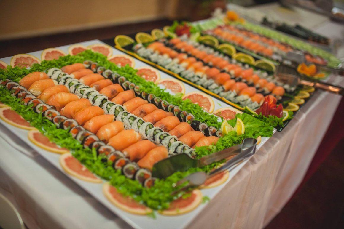 Sushi servírované na Kapverdách