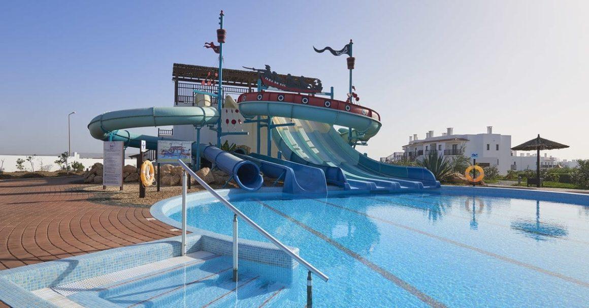 Hotel s aquaparkem Sol Dunas na Kapverdách