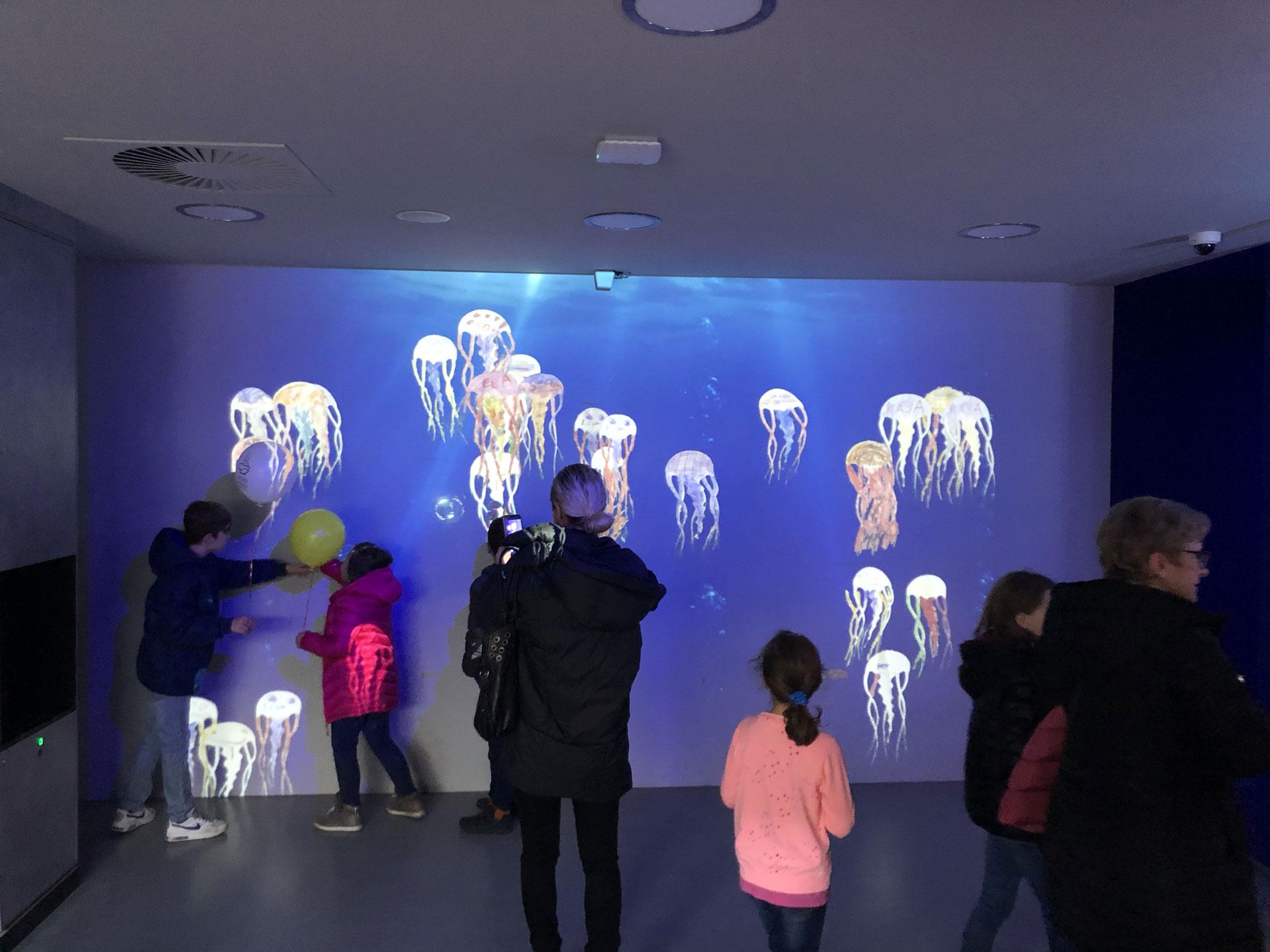Interaktivní medúzy Praha