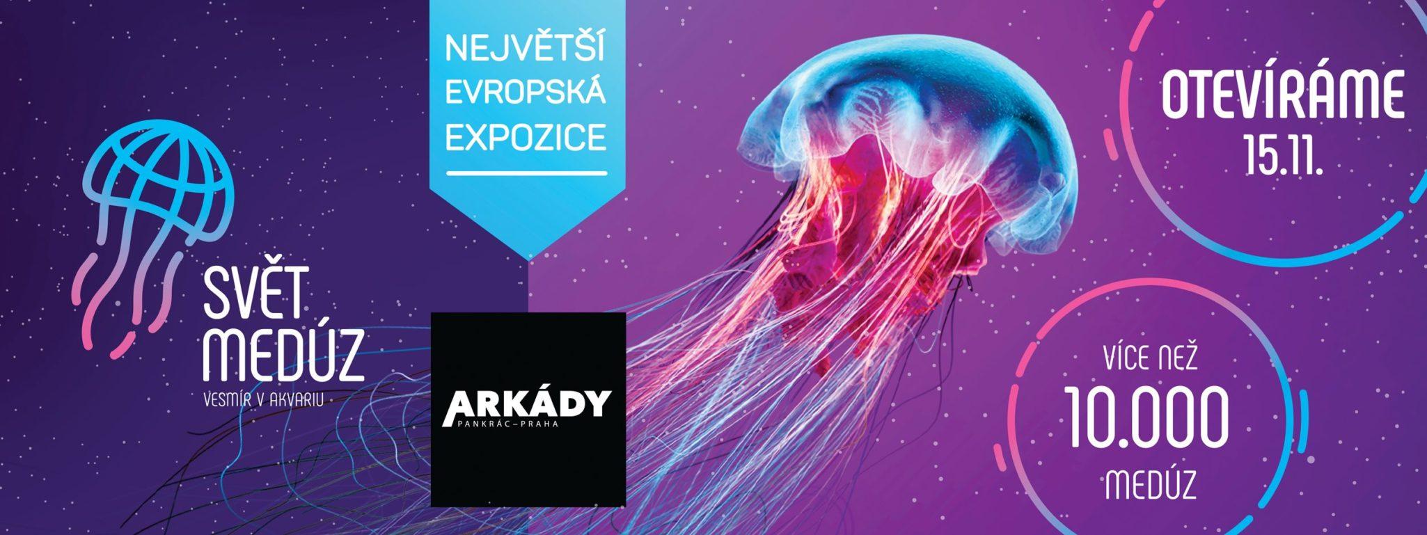Svět Medúz Arkády Pankrác