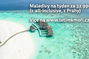 Akce na Maledivy